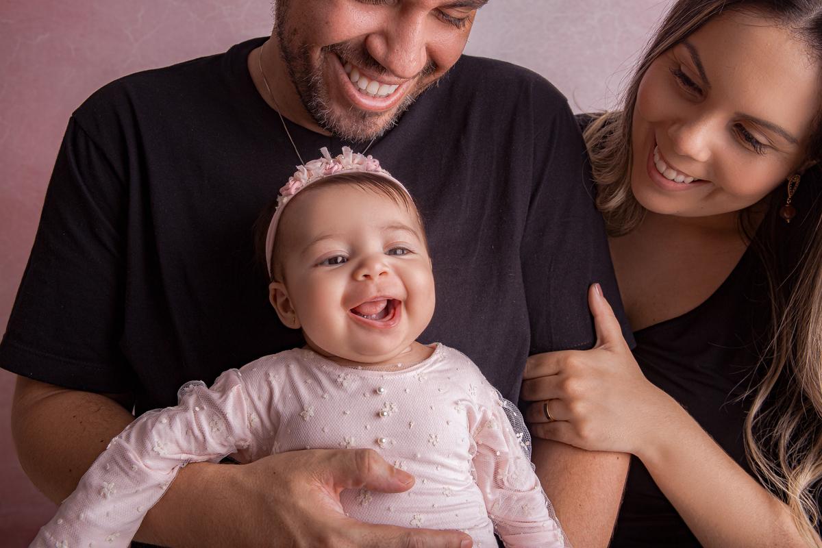 Sorriso em ensaio família Brasilia DF, primeiro ano