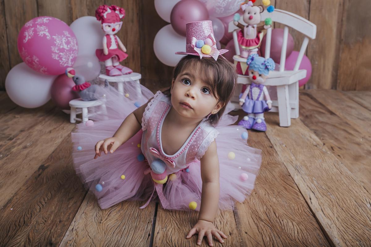 ensaio de acompanhamento do bebê, circo rosa, ensaio 12 meses, Brasilia, Gabi Aine