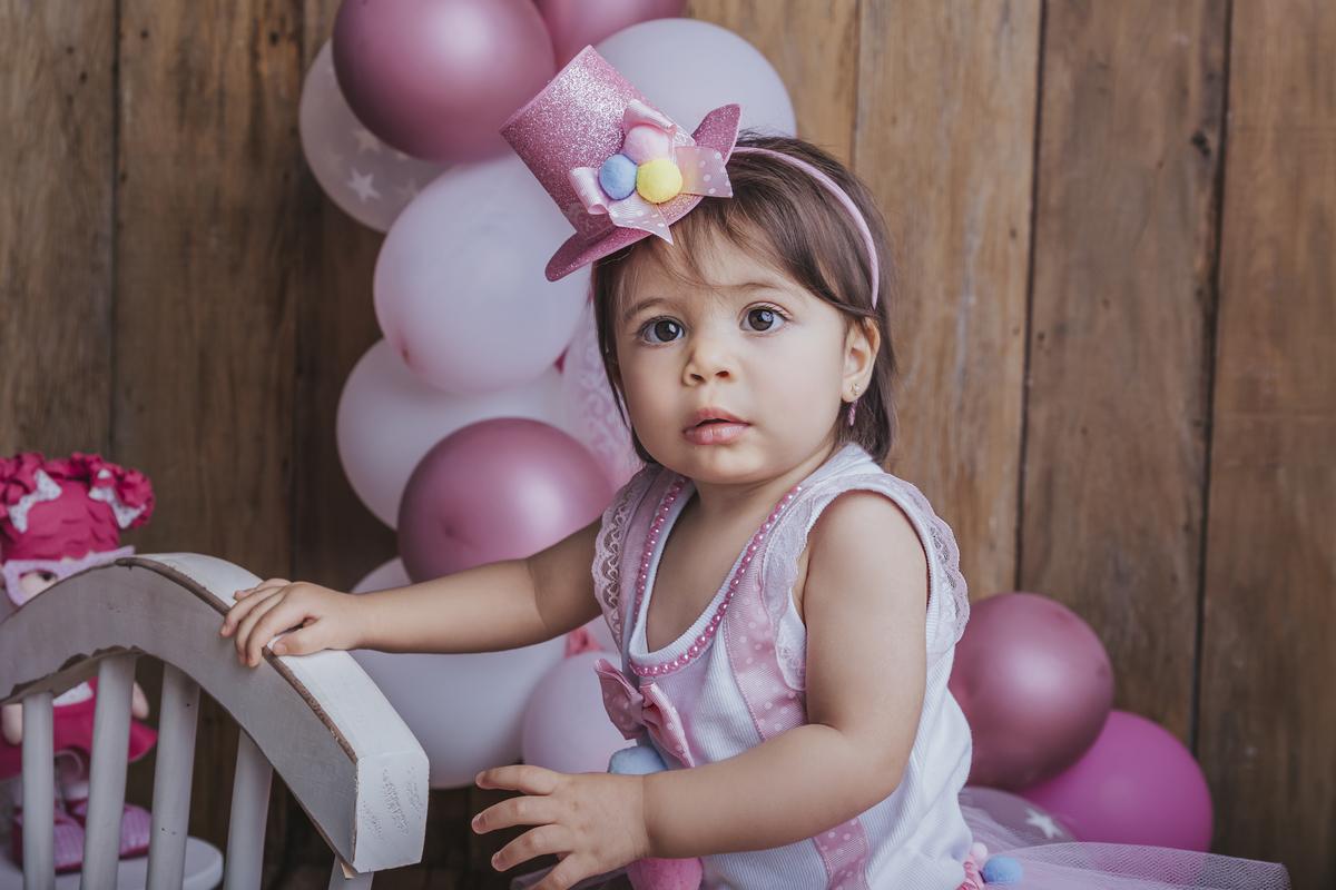 ja sei ficar de pé, primeiro ano de vida, ensaio de acompanhamento, tema circo rosa, ágas claras Brasilia DF