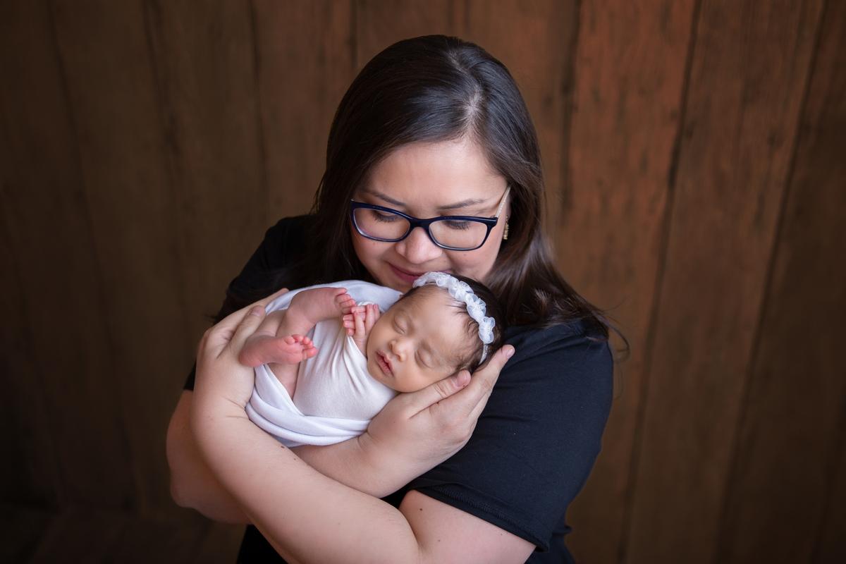 Piebaldismo em recém-nascido, mamae e eu, Brasilia DF