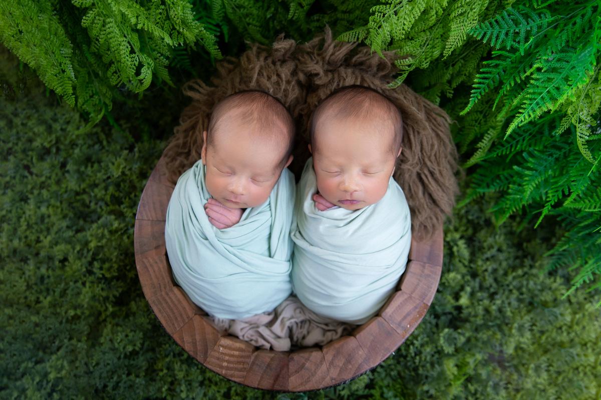 Ensaio em dose dupla em Brasília, Newborn