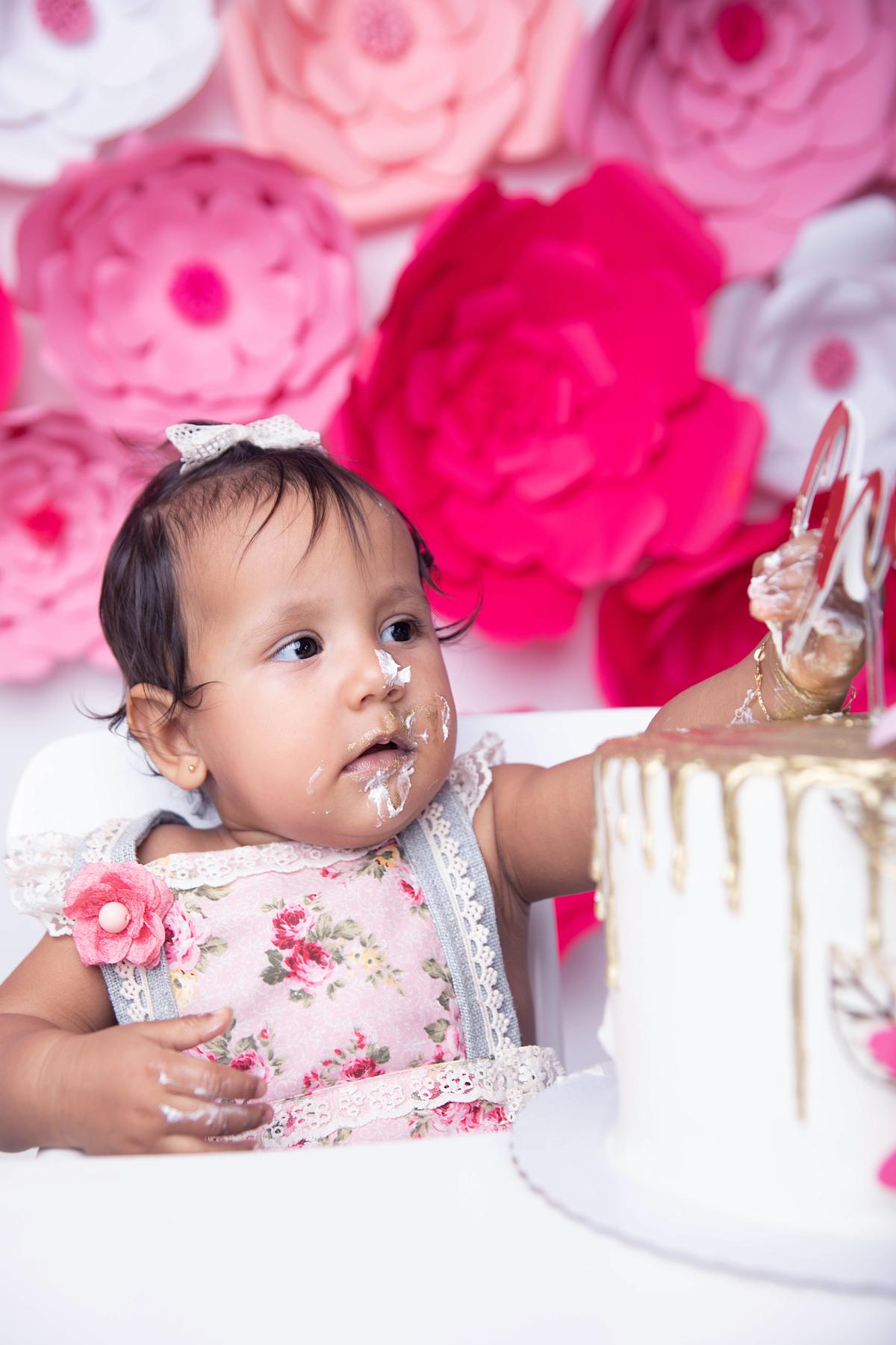 vou pegar mais um pouco smash the cake, flores Brasilia DF