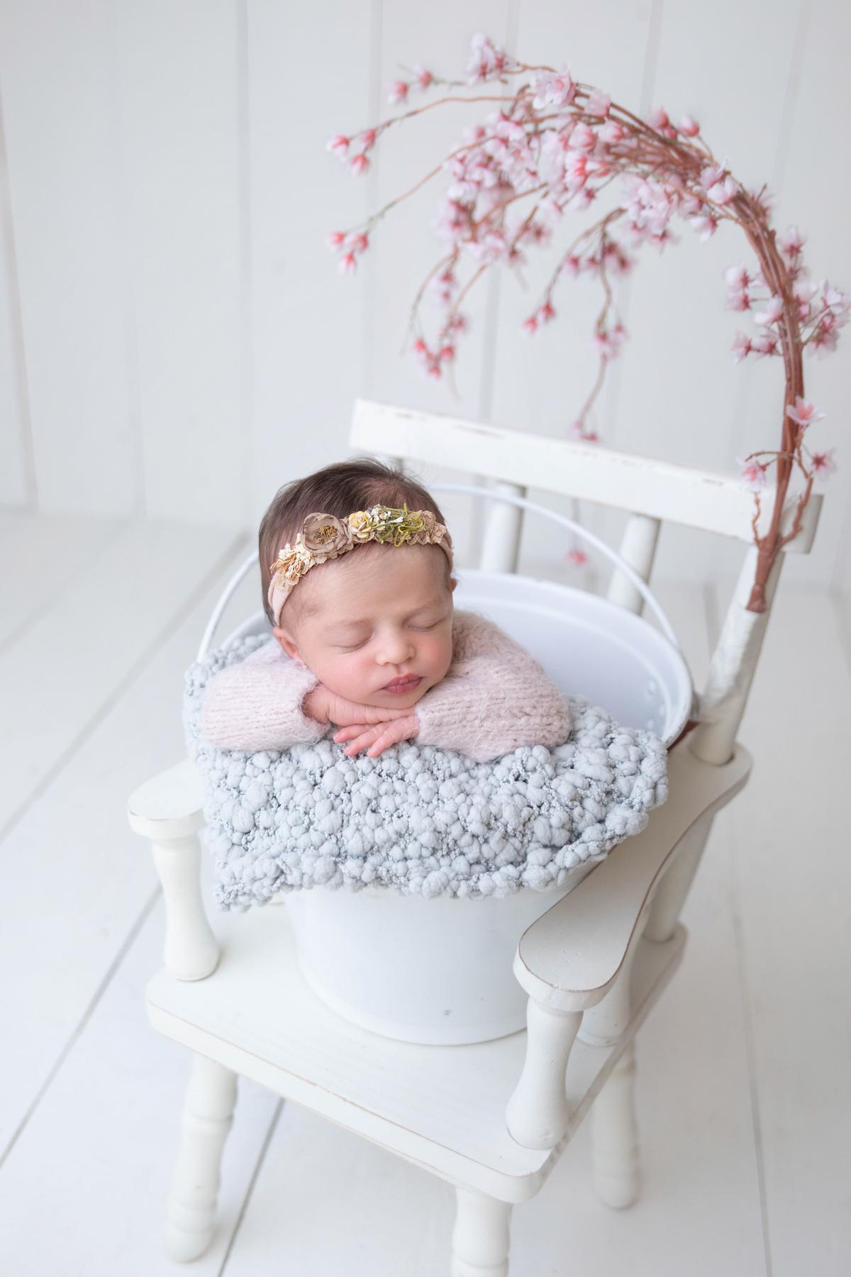 ensaio de recém nascido em Brasilia, Newborn menina