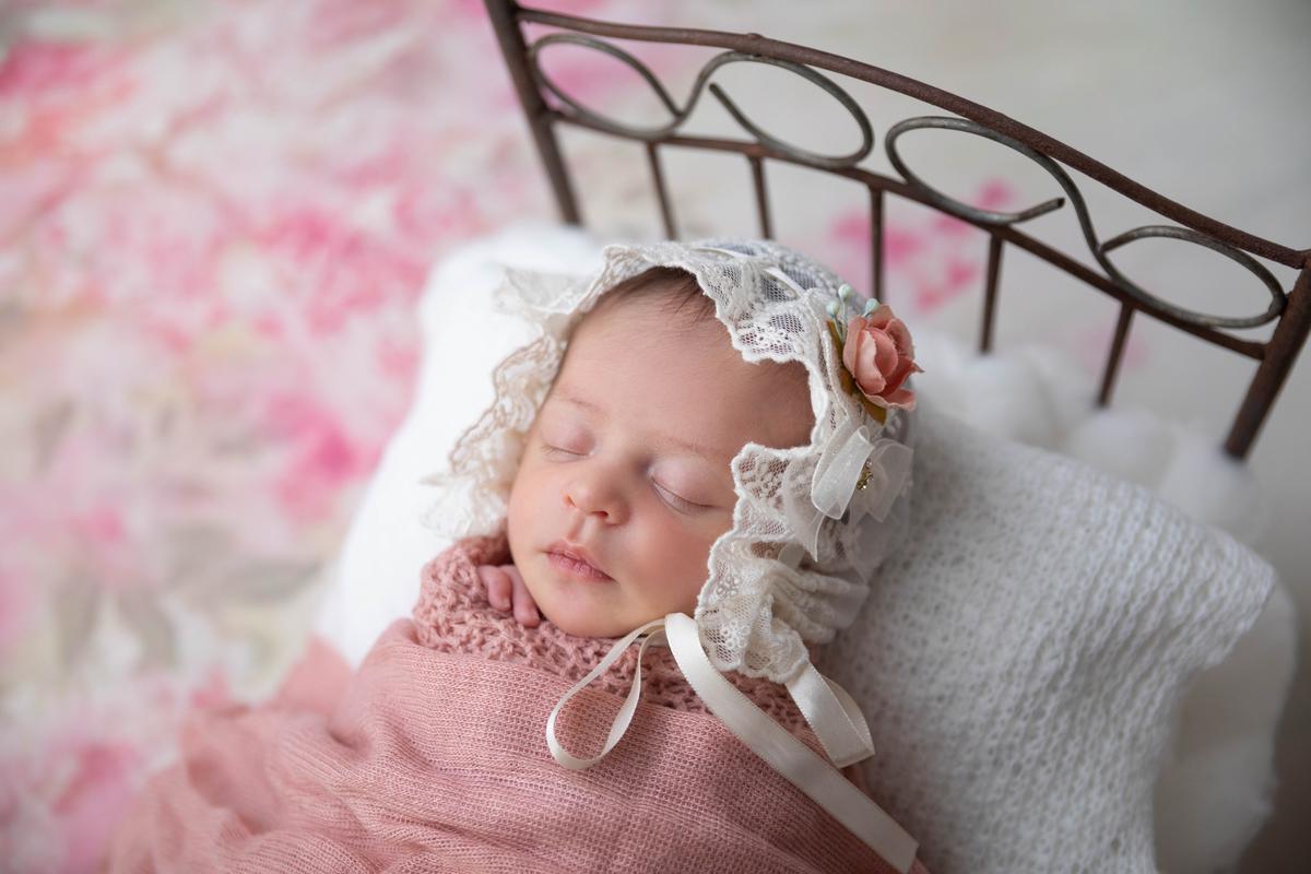 Bebê na caminha, newbirn menina, àguas Claras DF