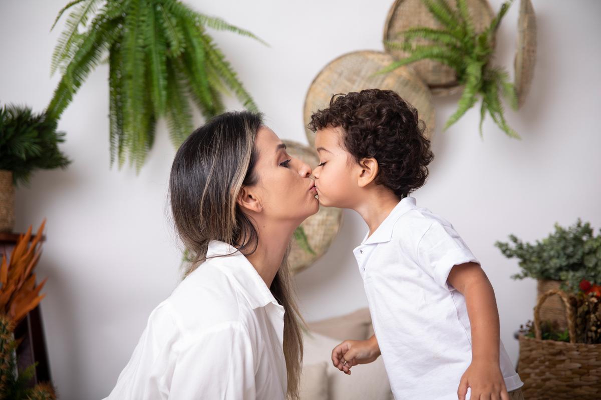 Beijo na mamãe, ensaio dia das mães, amor de mãe 2021, Brasilia