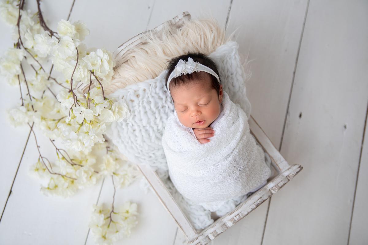 Brasília ensaio Newborn Menina