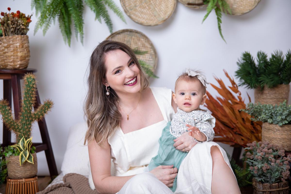 Ensaio dia das mães em 2021, estúdio em Águas Claras