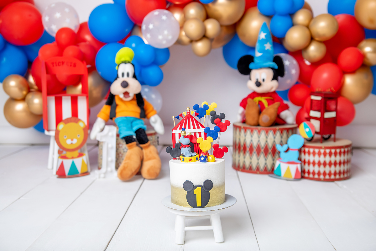 Smash the Cake Circo do Mickey Brasília