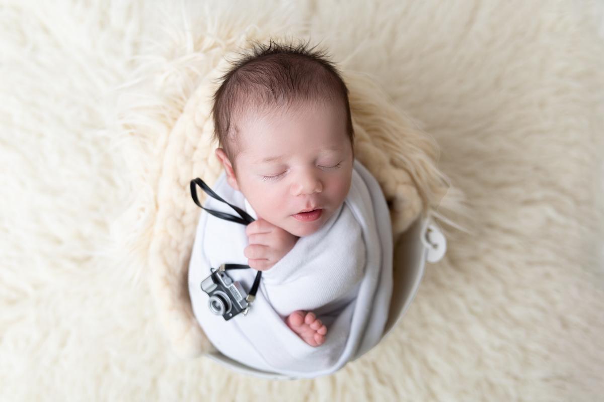 Filho de fotográfa, Newborn em Brasilia
