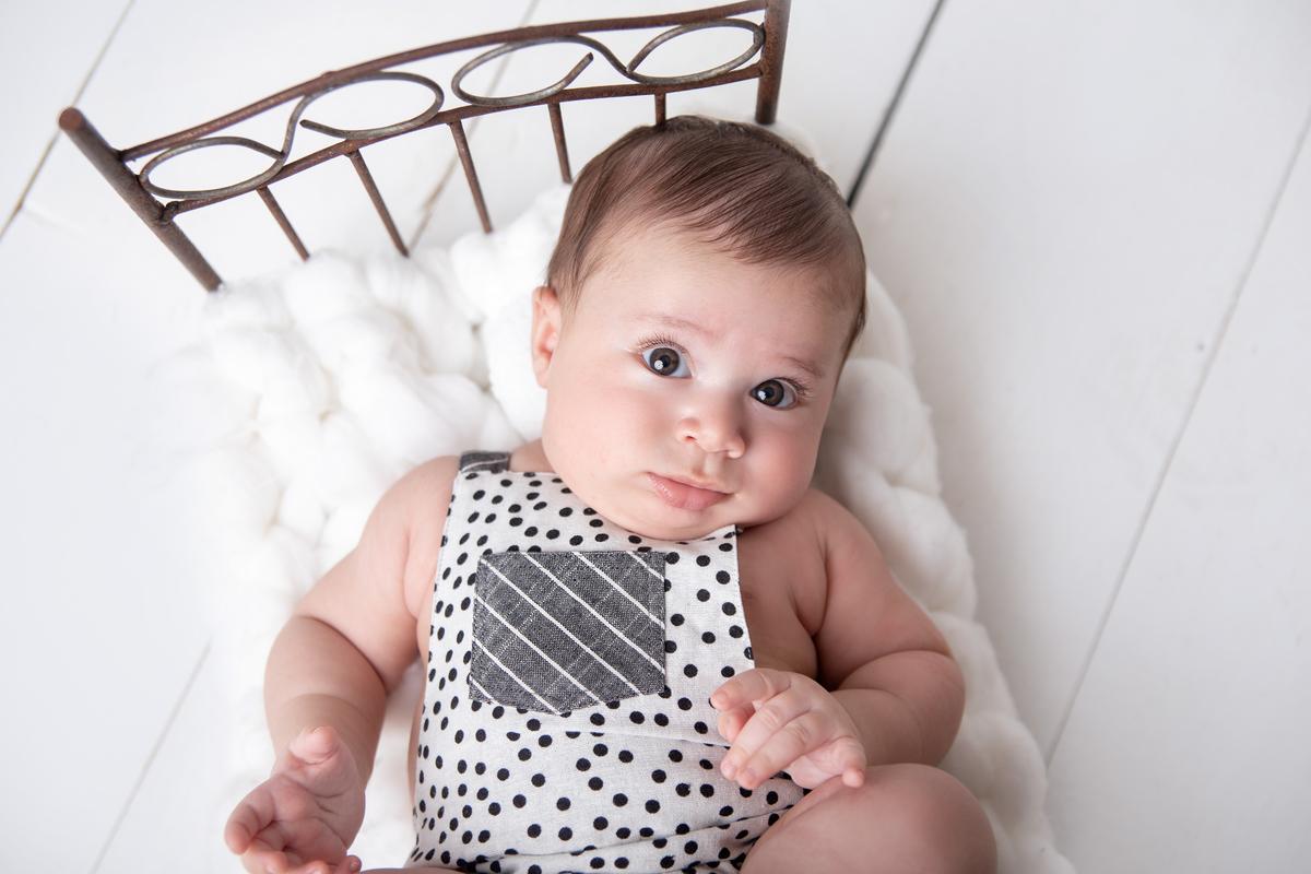 Gabi Aine, acompanhamento primeiro ano de vida do bebê, ensaio de 3 meses