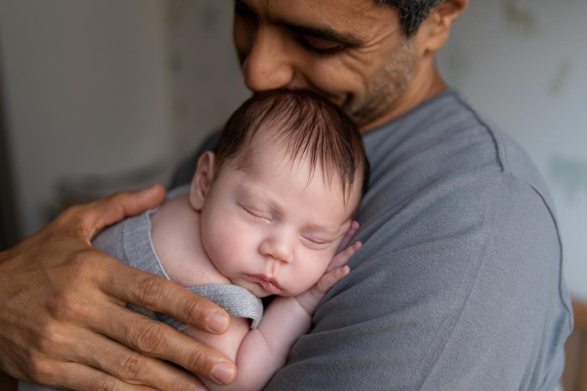 Lifestyle, Newborn, Gabi Aine, ensaio em casa