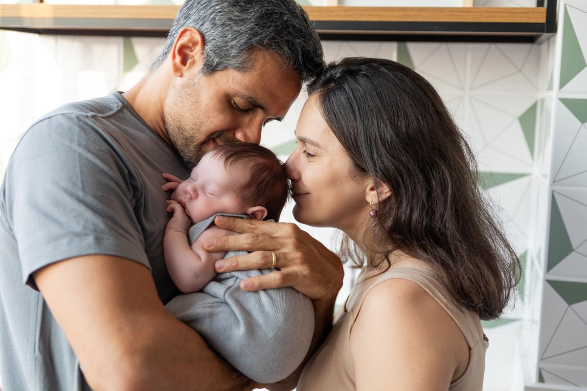 Lifestyle, Newborn, Gabi Aine, recém-nascido, ensaio em casa, Brasília