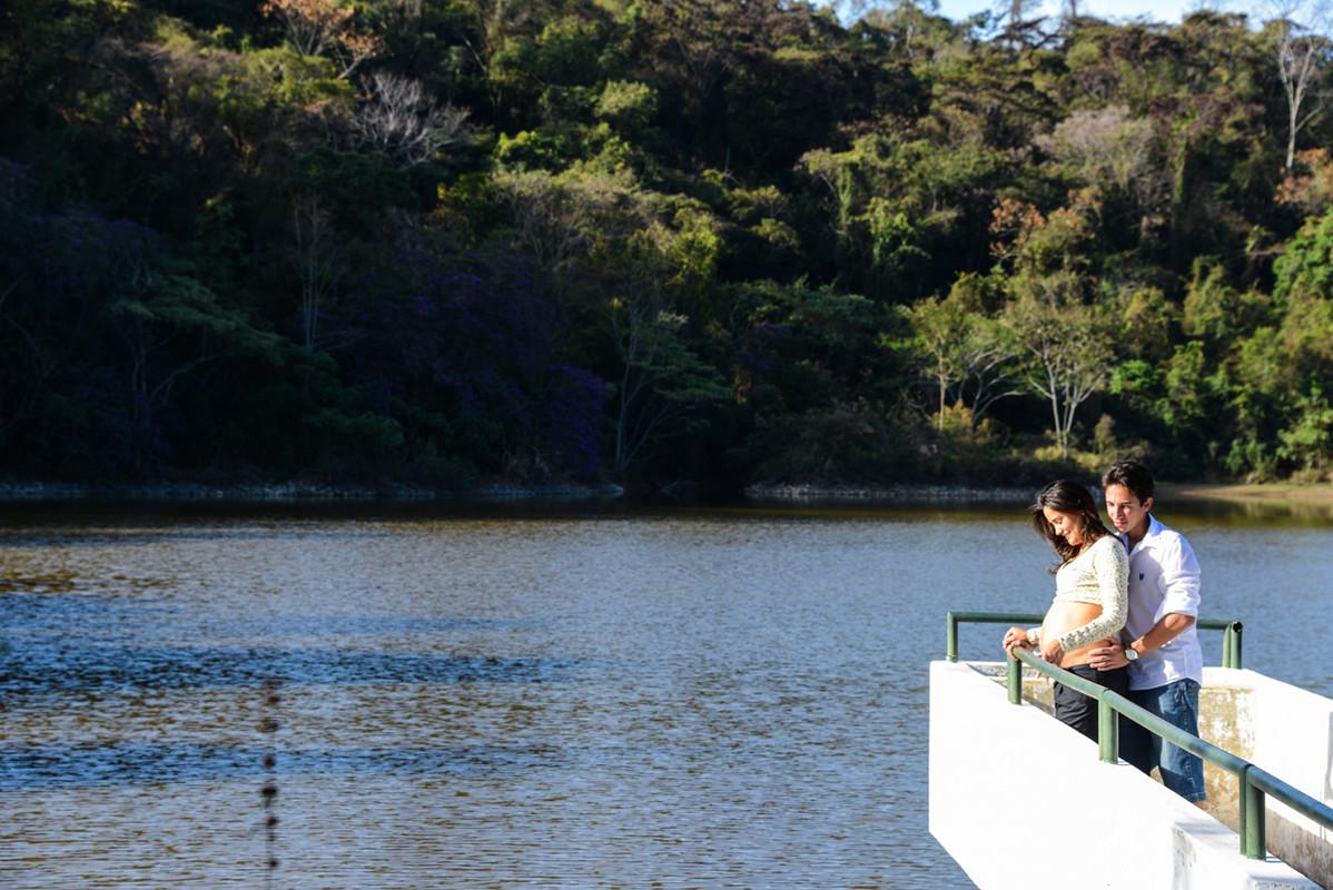 Píer da lagoa - Parque da Cascata