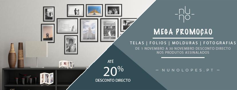 Imagem capa - MEGA PROMOÇÃO NATAL - 20% EM TELAS FOLIOS MOLDURAS E FOTOGRAFIAS por Nuno Lopes Photography