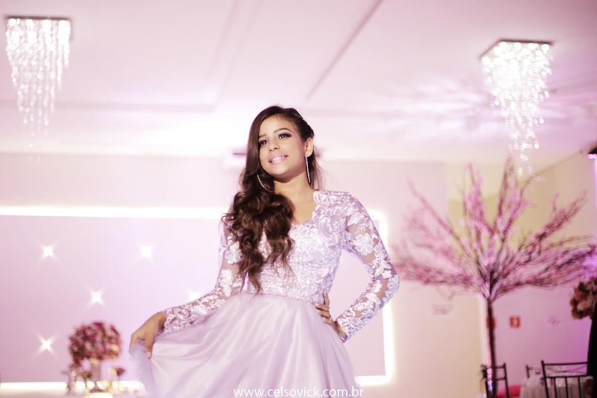 fotografia Santo André do Aniversário debutante Adhara realizado no Buffet Surreal, fotos Celso Vick