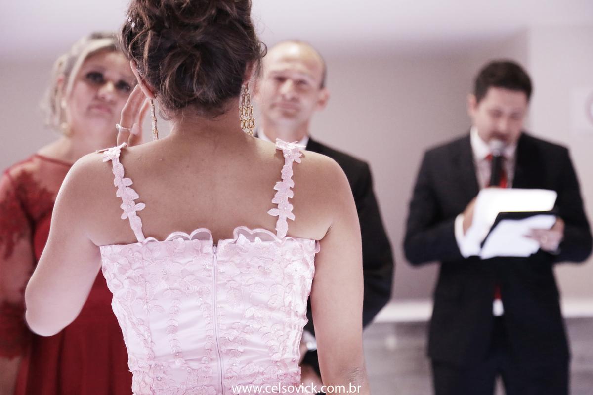 em Santo André Aniversário debutante Adhara realizado no Buffet Surreal, fotos Celso Vick
