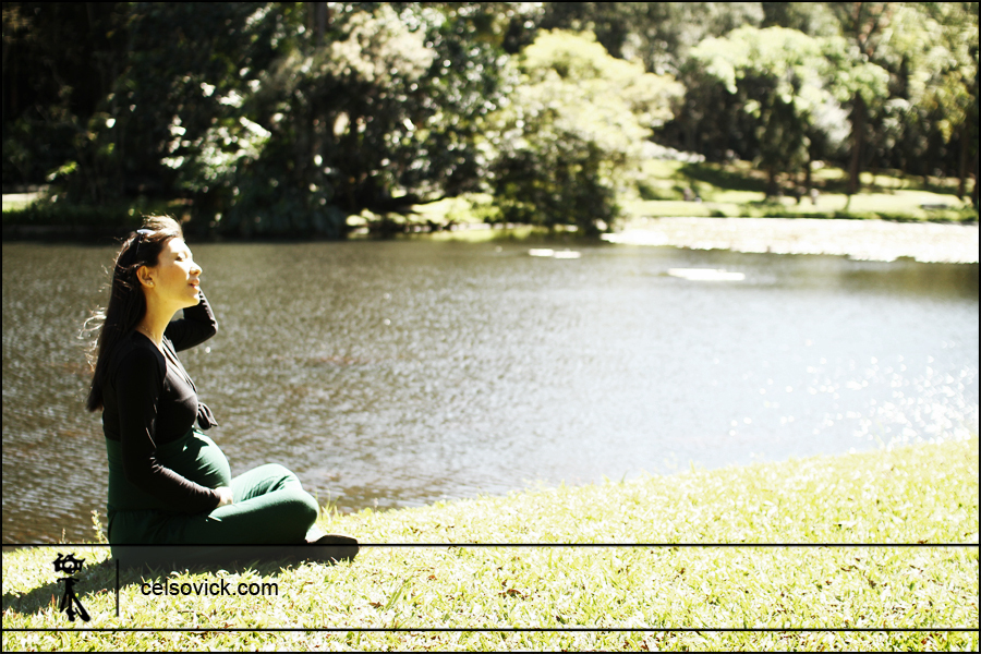 Fotografias de grávidas Taísa | local Jardim botânico