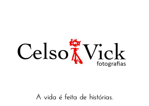 Logotipo de Celso Vick Fotografia e Filme