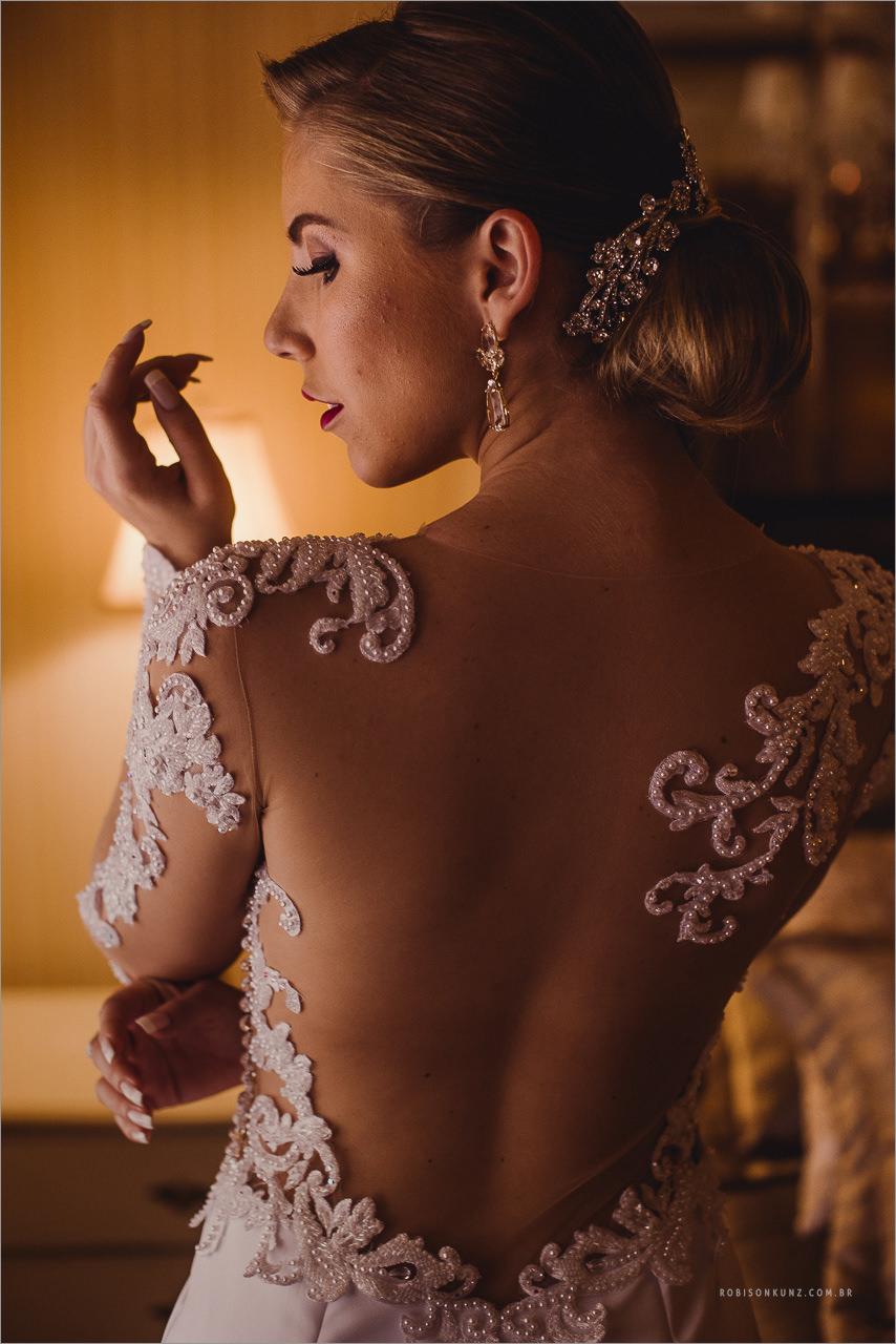 vestido de noiva classico