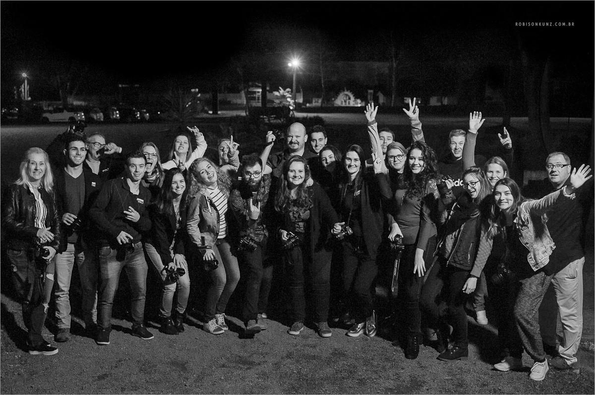 turma do workshop fotografia para iniciantes com robison kunz