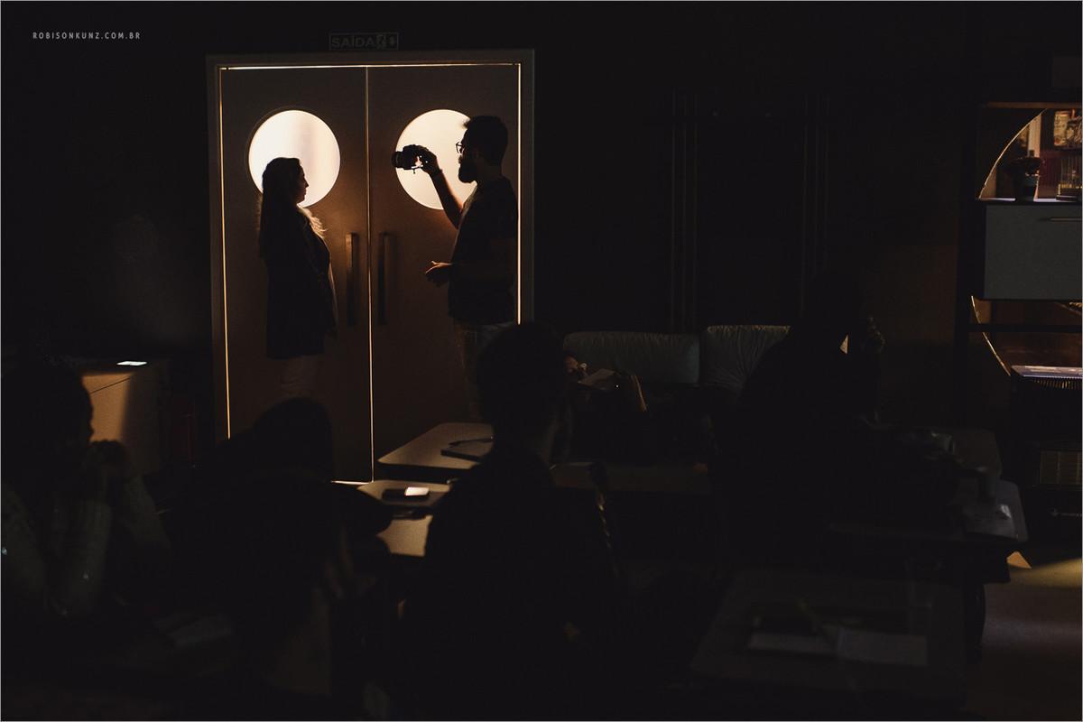 aula sobre luz na fotografia
