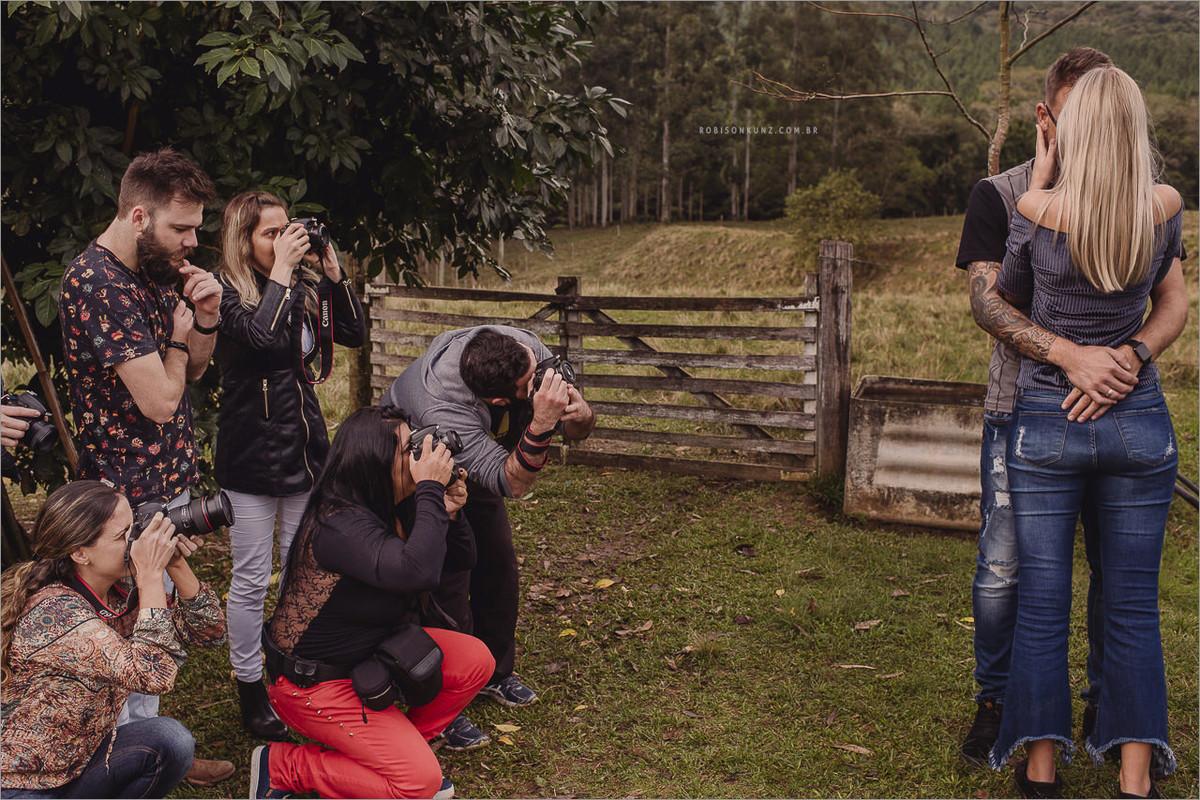 aula pratica de direção de fotografia