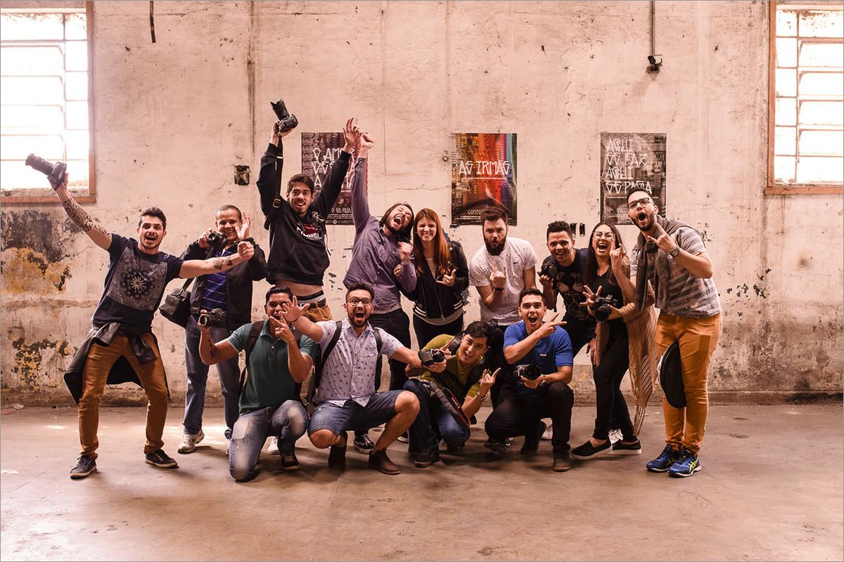 turma do workshop com robison kunz em SP
