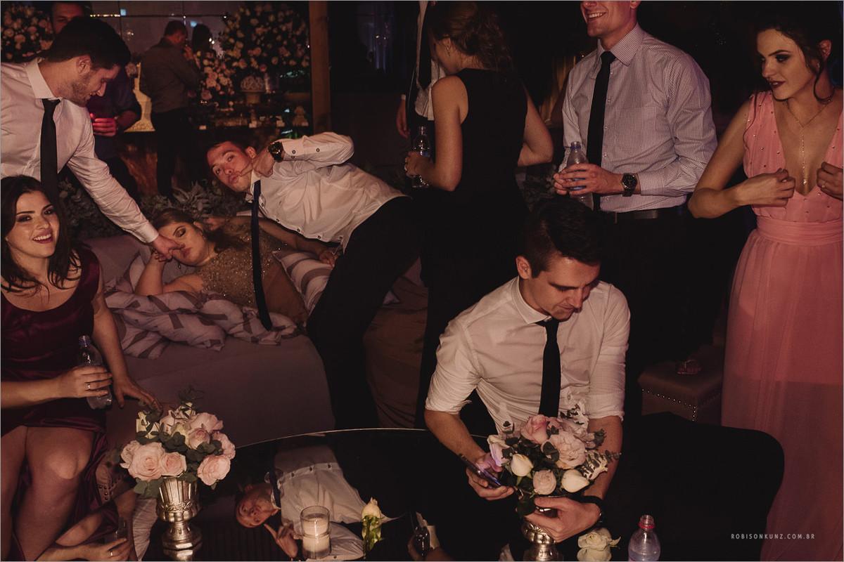 final de festa de casamento