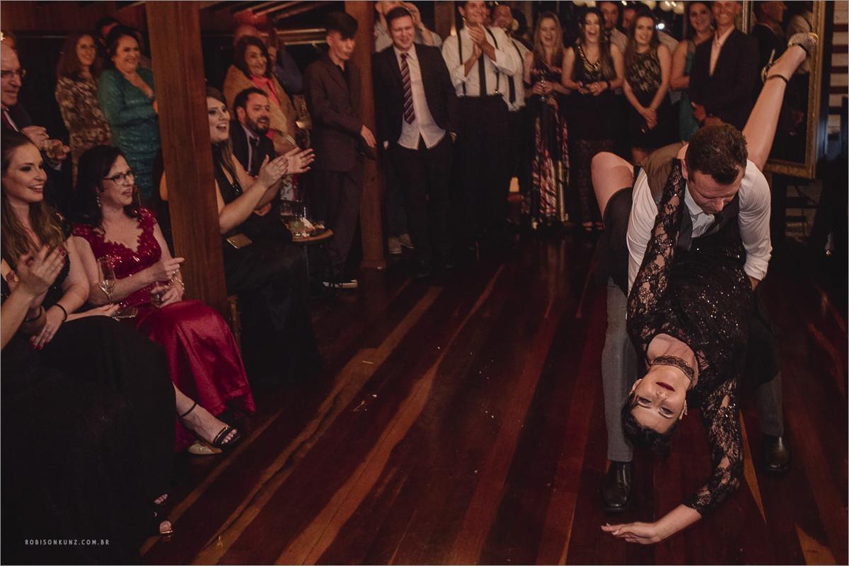 primeira dança tango