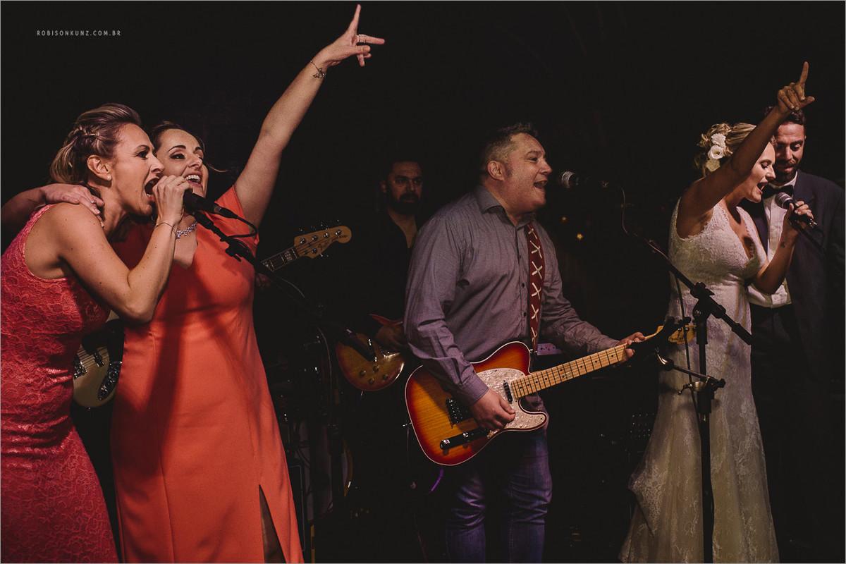banda rumbá no casamento