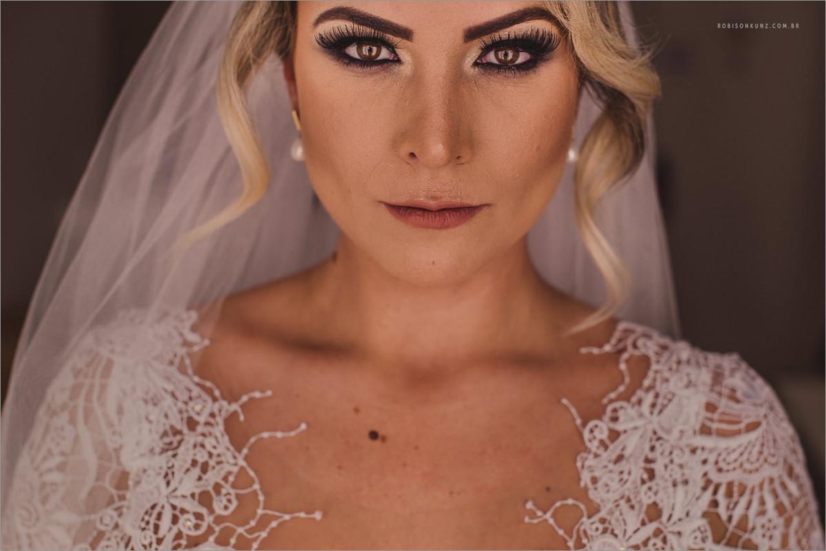 foto da noiva antes da cerimonia