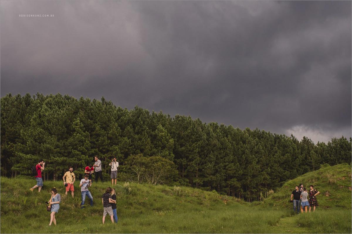 curso de fotografia na chuva