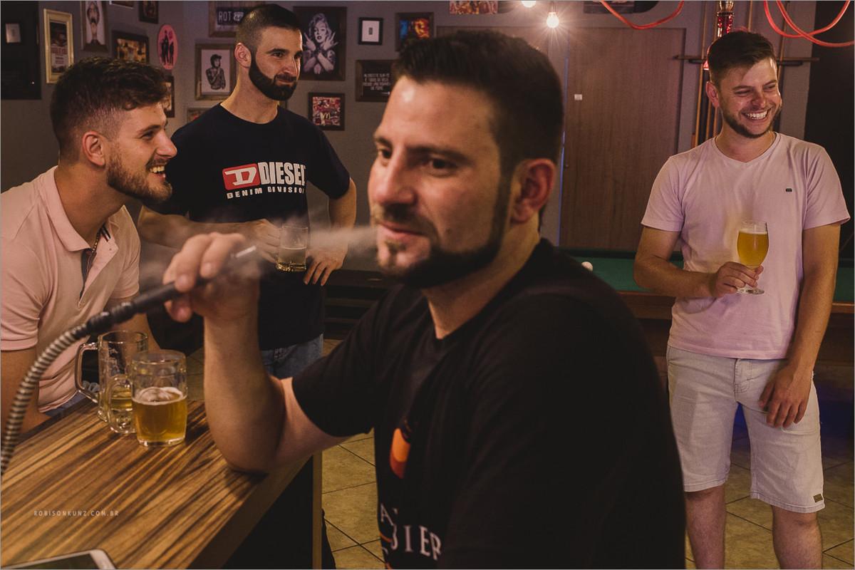 making of do noiva na barbearia