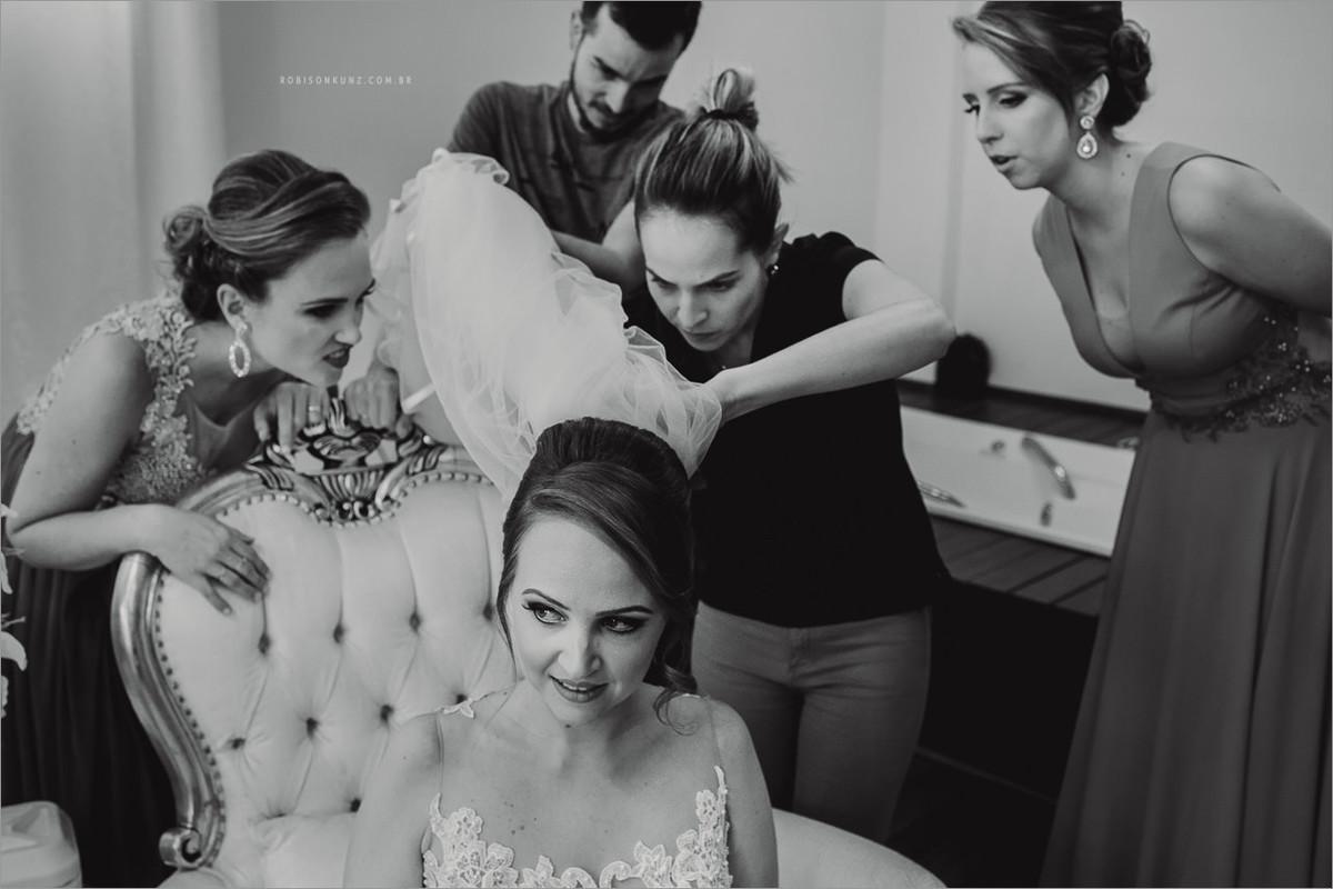 finalizando a noiva
