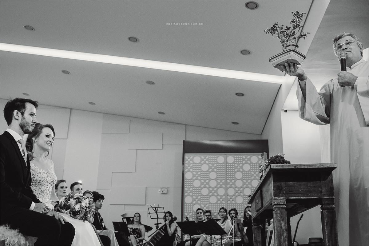 cerimonia religiosa de casamento
