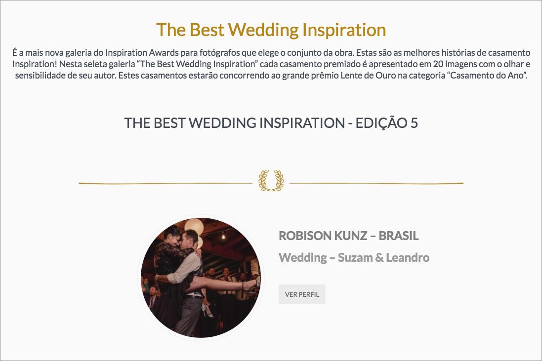 premiação dos melhores fotógrafos de casamento do Brasil