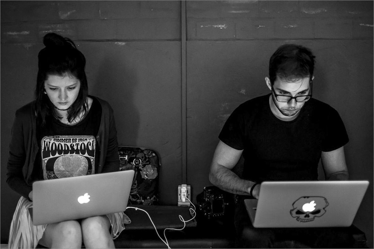 workshop perseguindo fotografias verdadeiras com nei bernardes e robison kunz - diana e sergio concentrados