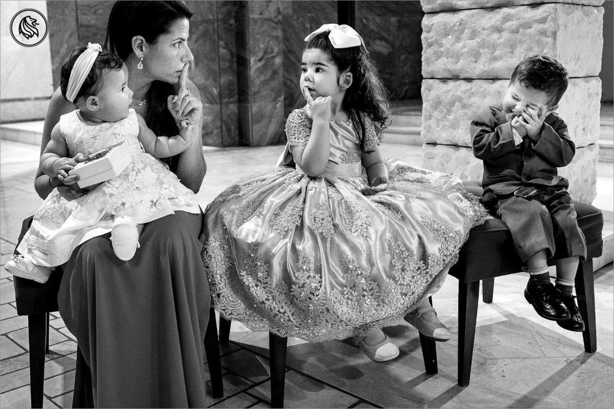 crianças no casamento