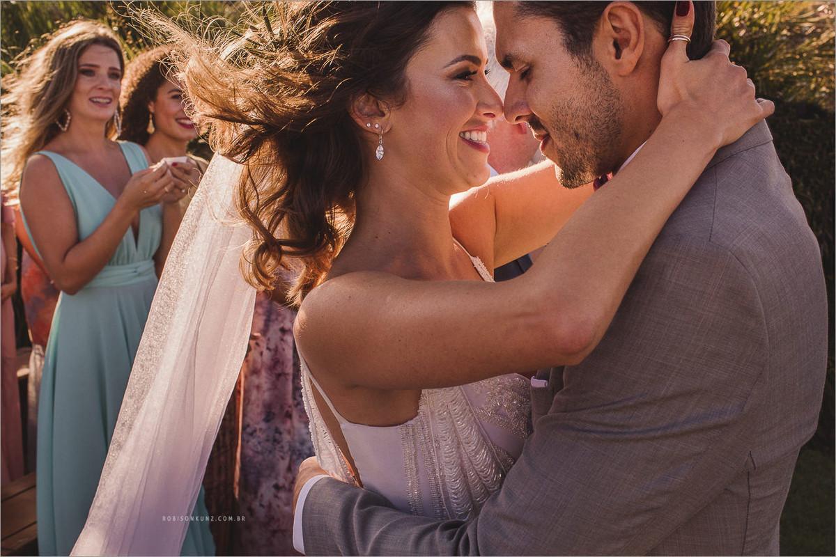 fotos de casamento com emoção