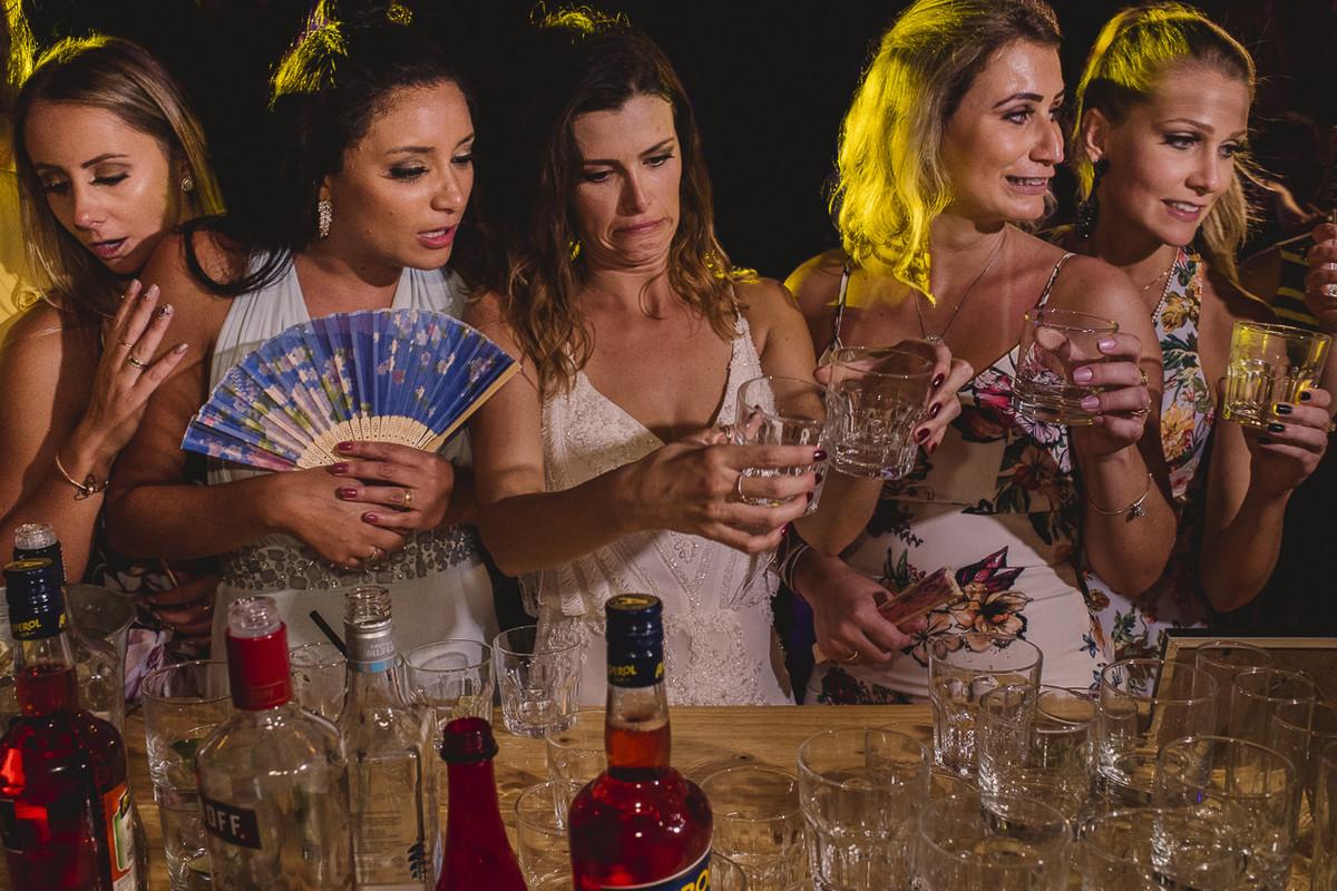 tequila no casamento