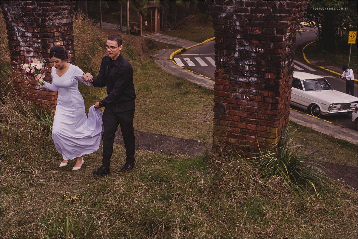 entrada da noiva cassino abandonado
