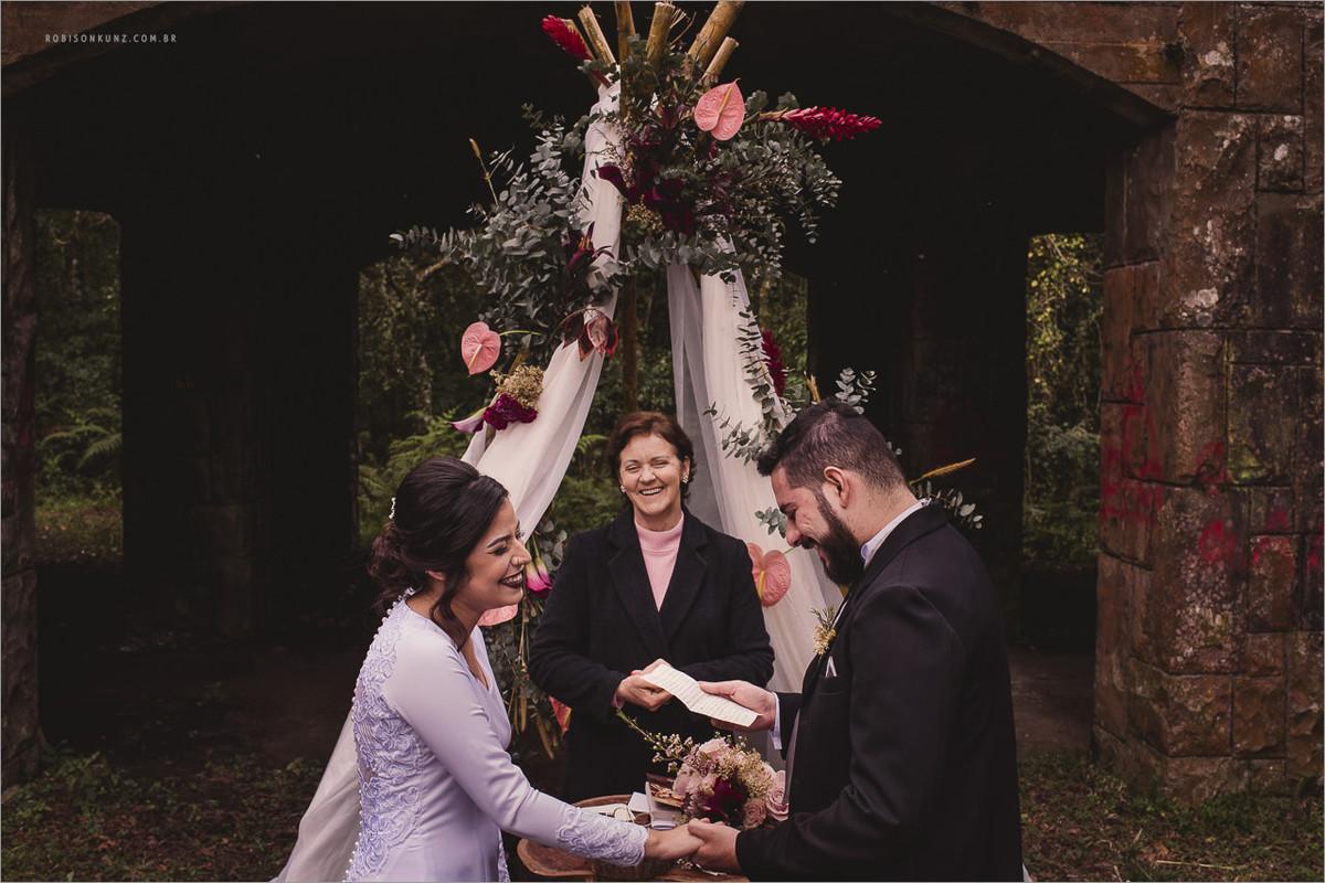 votos em casamento diferente
