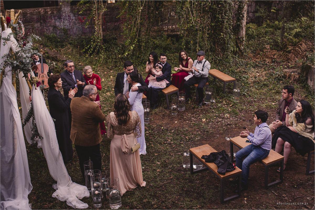 casamento em lugar diferente