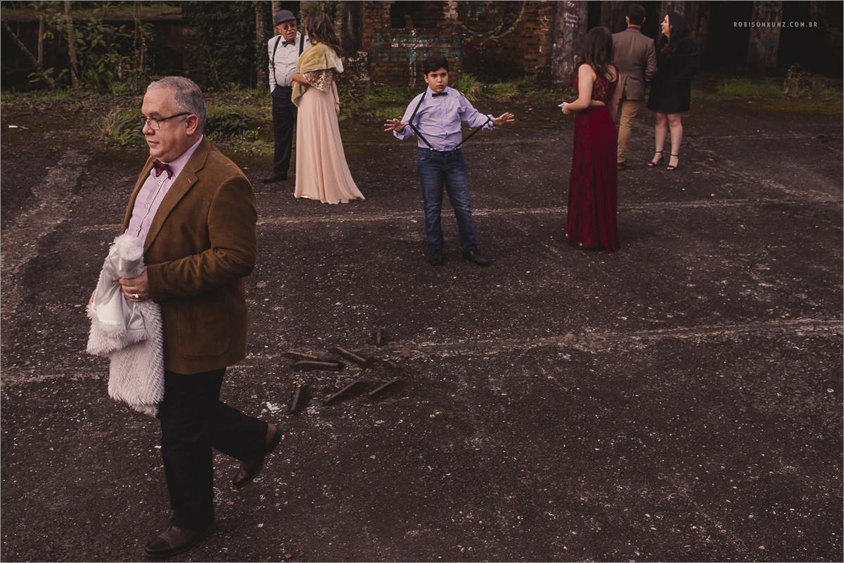 casamento no cassino abandonado