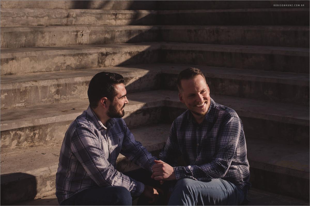 ensaio pre-casamento gay diferente