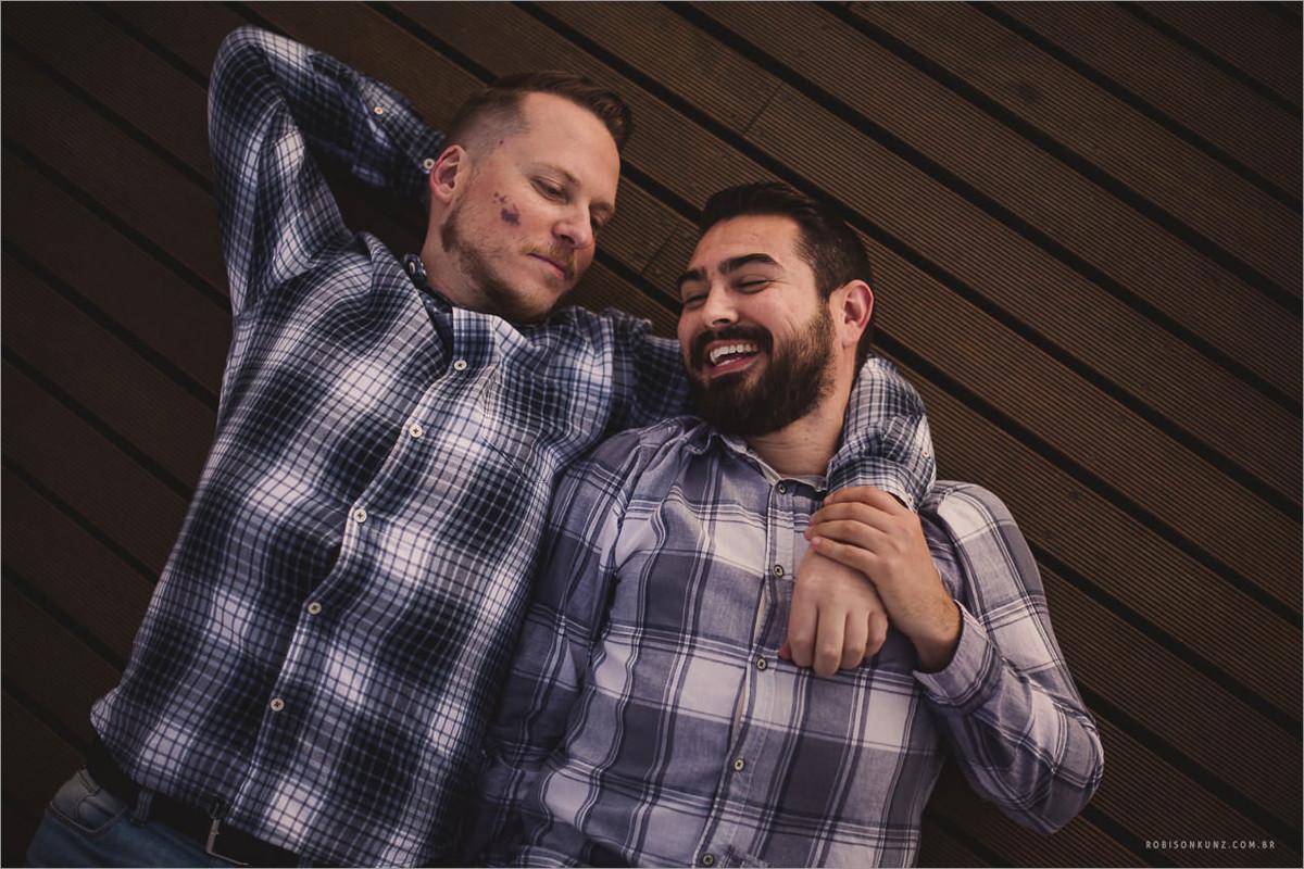 ensaio de casal gay