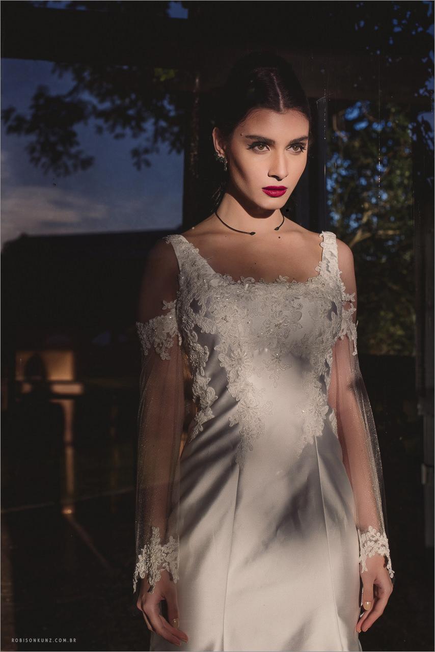 vestido diferente de noiva