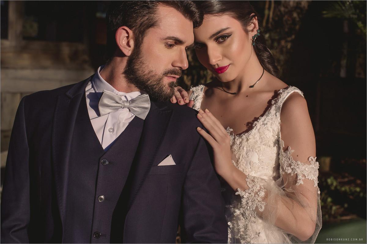 editorial de moda de noivos