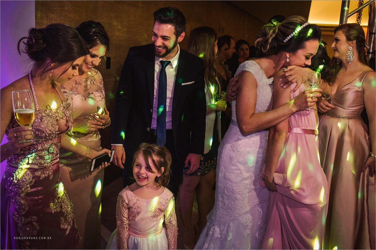 recepção de casamento em parobé