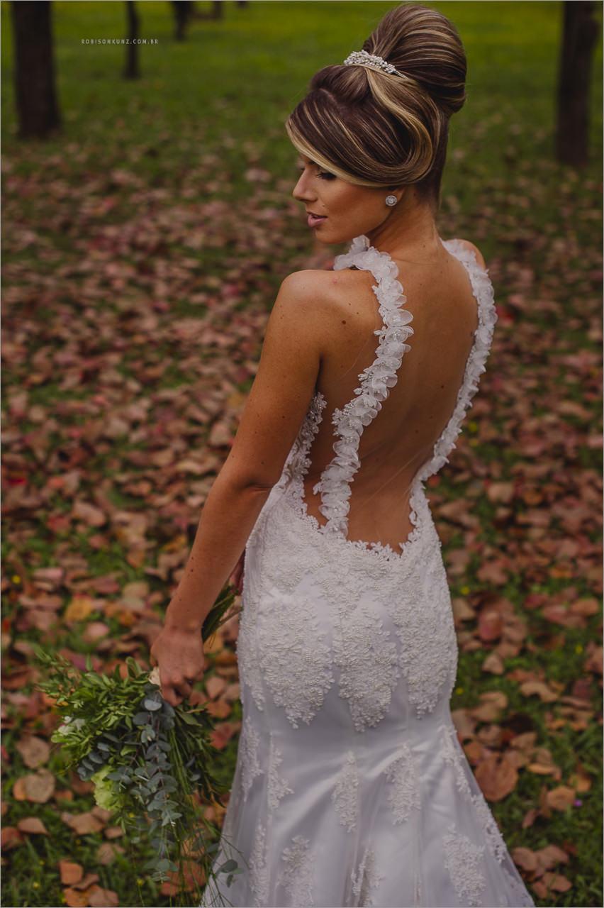 costas dos vestidos de noiva